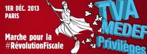 Révolution fiscale - Marche du 1e décembre